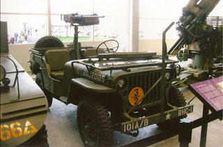 Jeep at the National WWII Museum in New Orleans